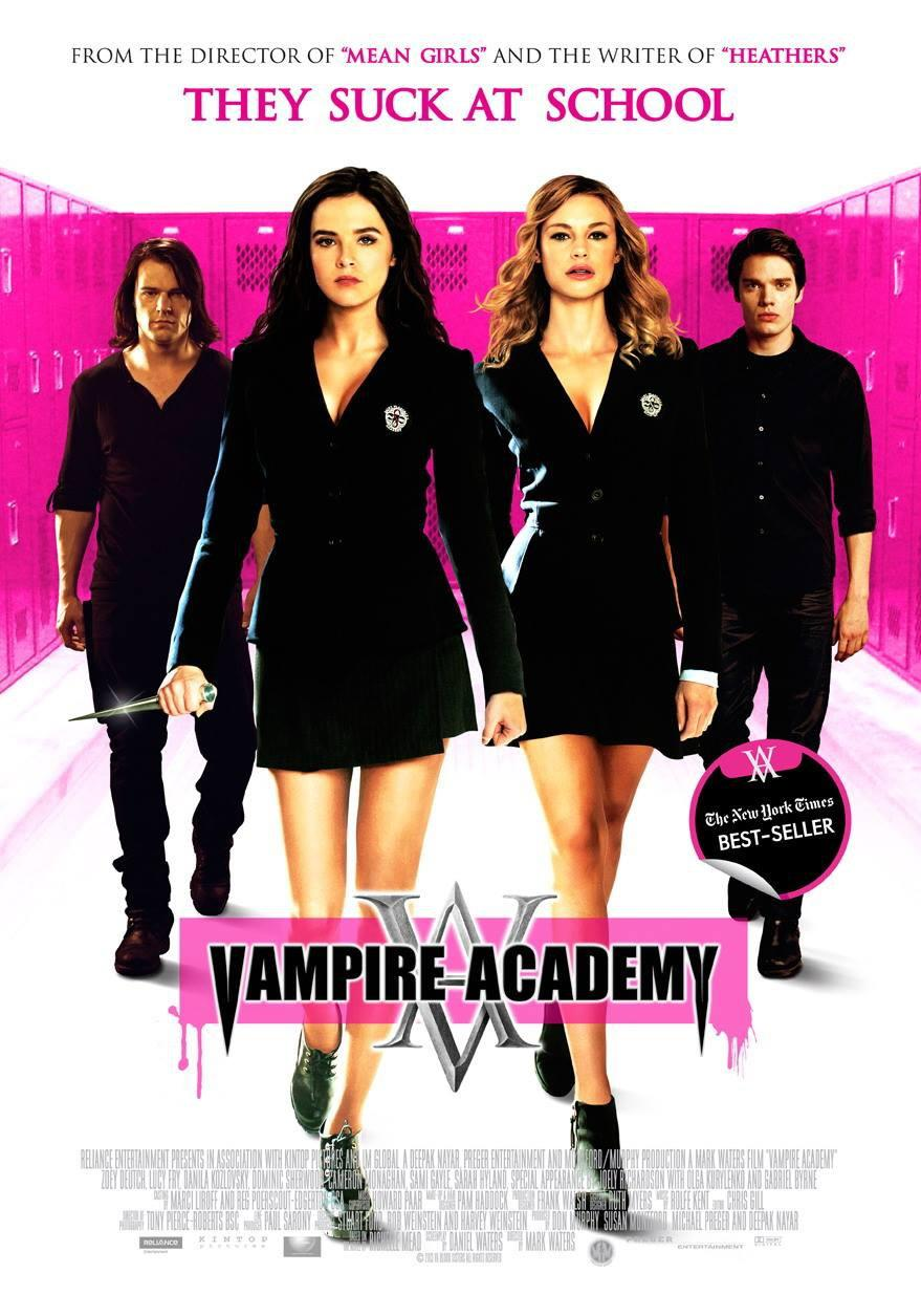 Vampire Academy Blood Sisters  - poster