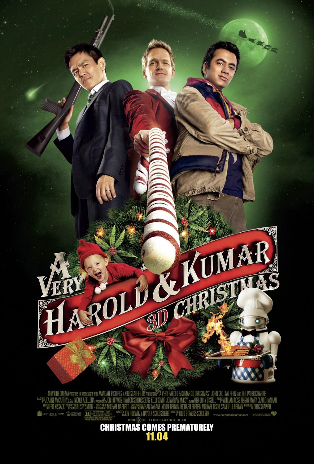 Very Harold and Kumar Christmas -  Un Natale da Ricordare - poster