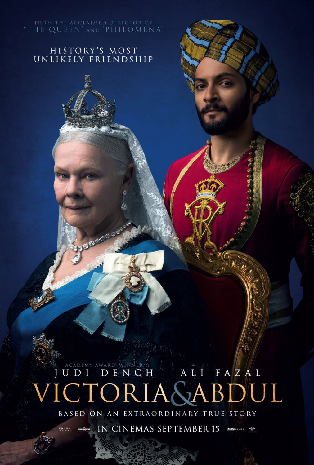 Film - Victoria and Abdul - poster