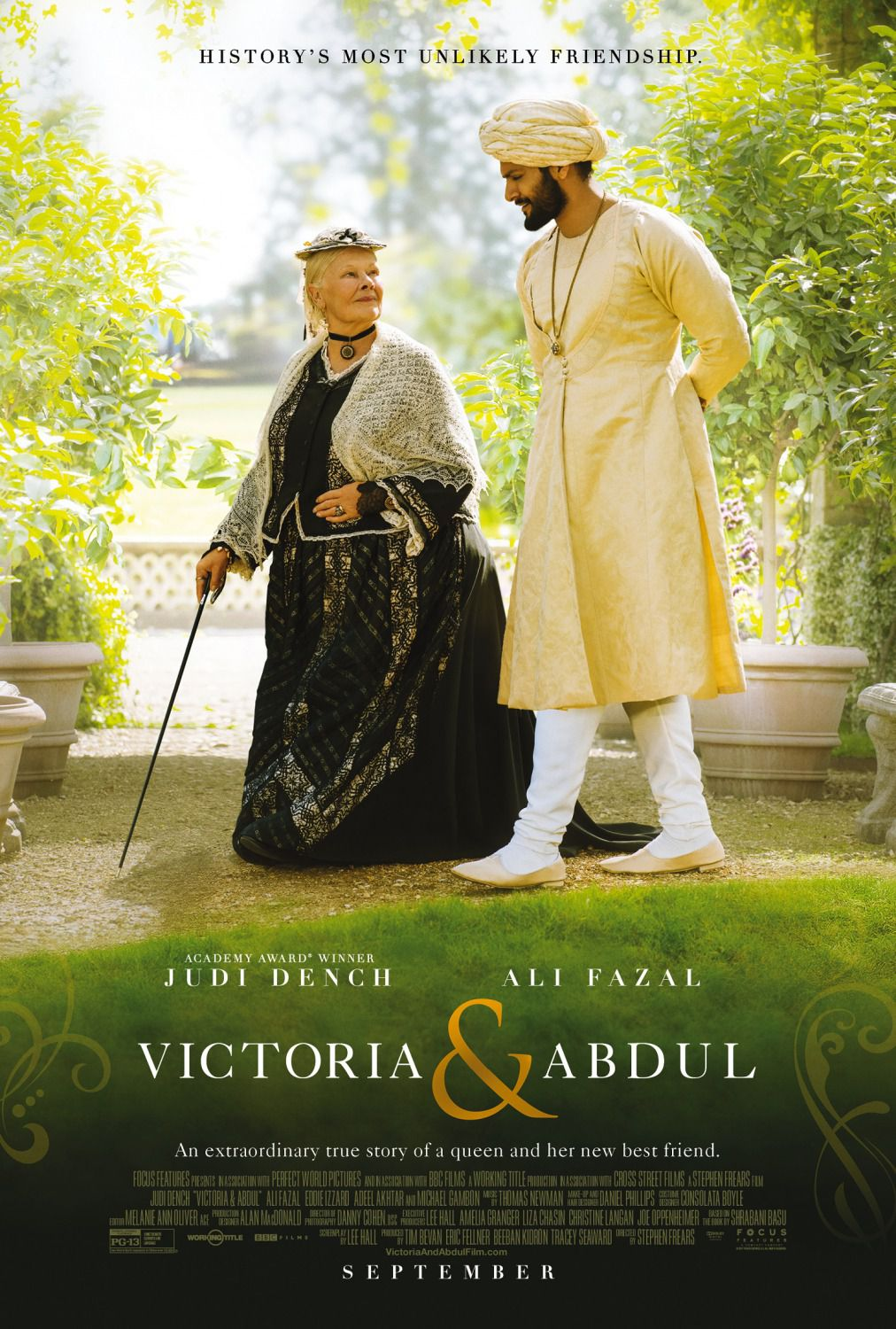 Film - Victoria and Abdul - poster - friendship
