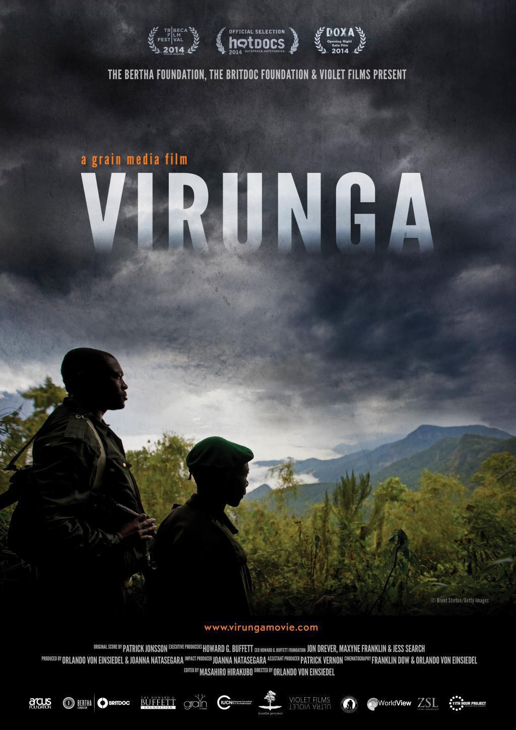 Virunga ... a Netflix documentary - film poster