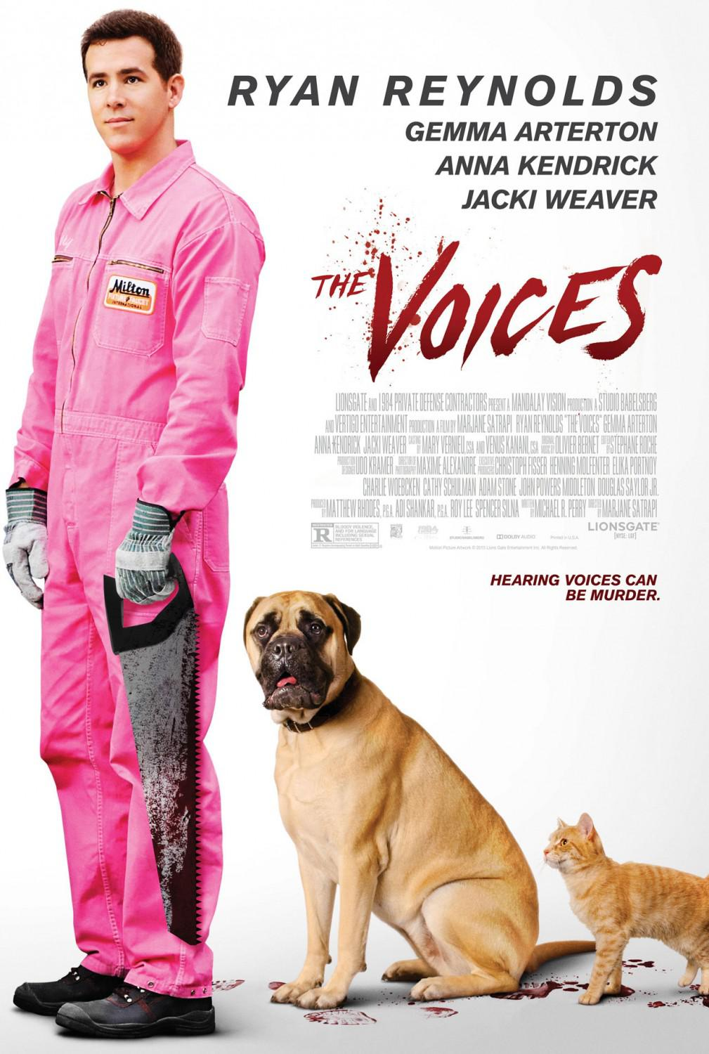 Film - The Voices (con Ryan Reynolds)