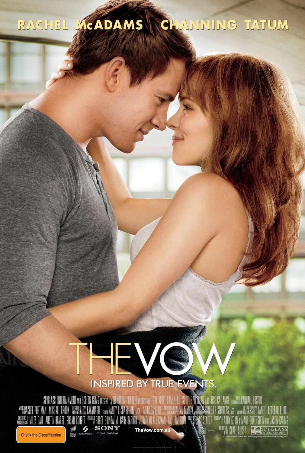 Vow - Rachel McAdams - Channing Tatum - inspired by true events