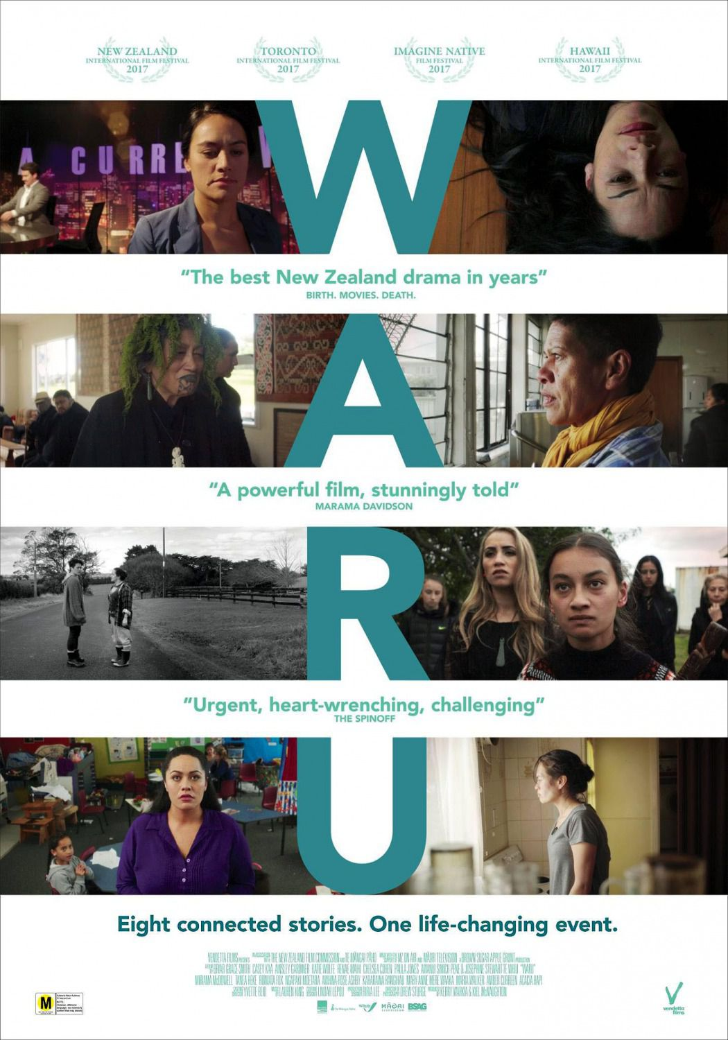 Waru - Eight connected stories, One life-changing event - film poster