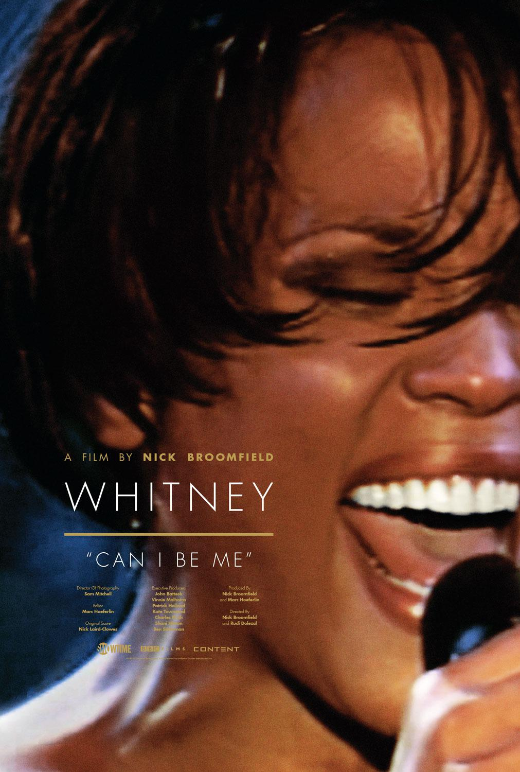 Whitney can I be me (life of Whitney Houston)  - film poster