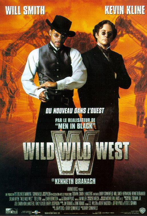 Wild Wild West - Will Smith - Kevin Kline - film poster - Steampunk