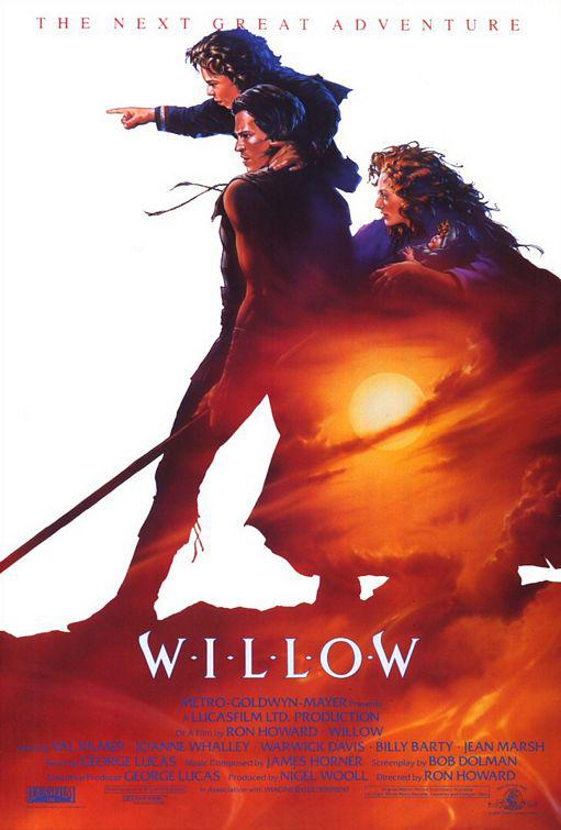 Willow - fantasy film poster