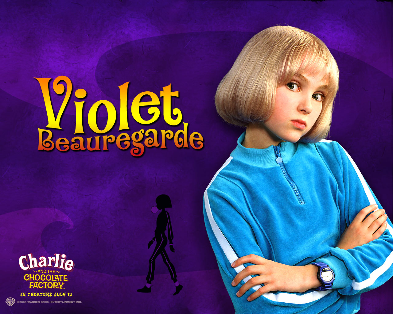 Willy Wonka - Violet Beauregarde