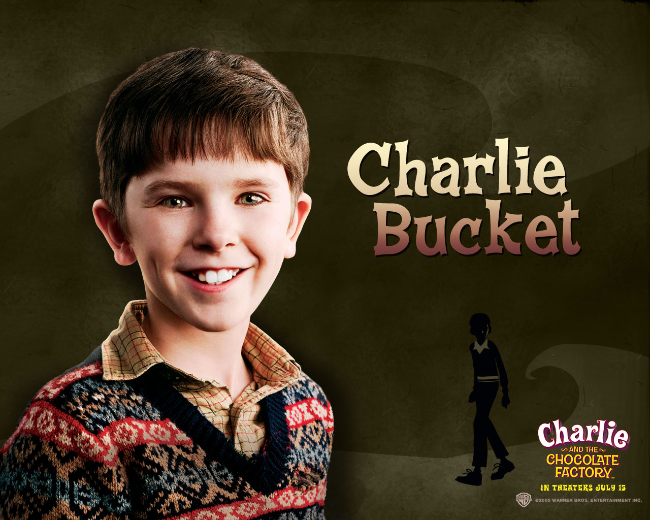 Willy Wonka - Charlie Bucket