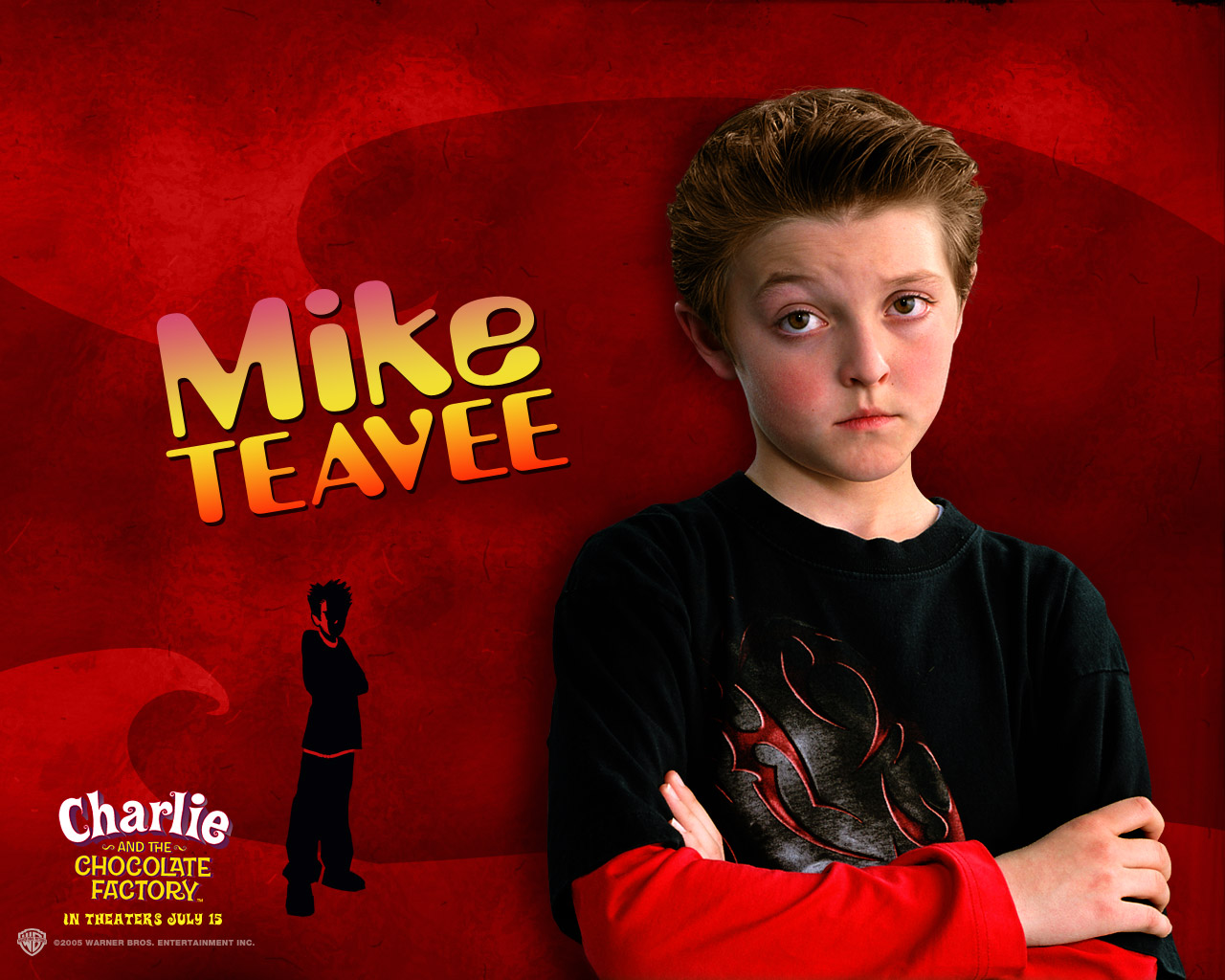 Willy Wonka - Mike Teavee