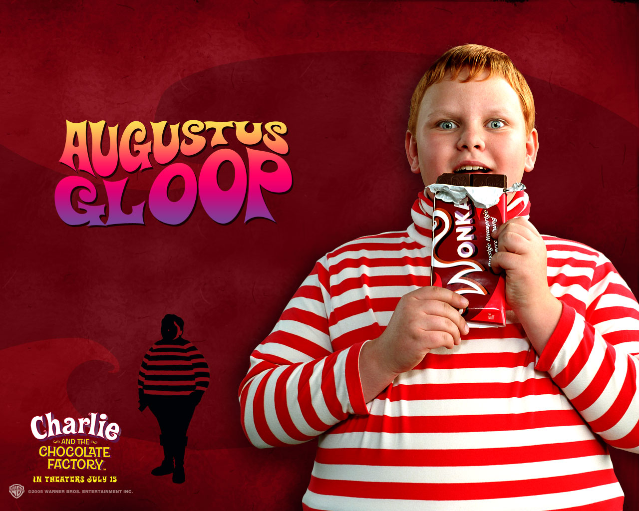 Willy Wonka - Augustus Gloop