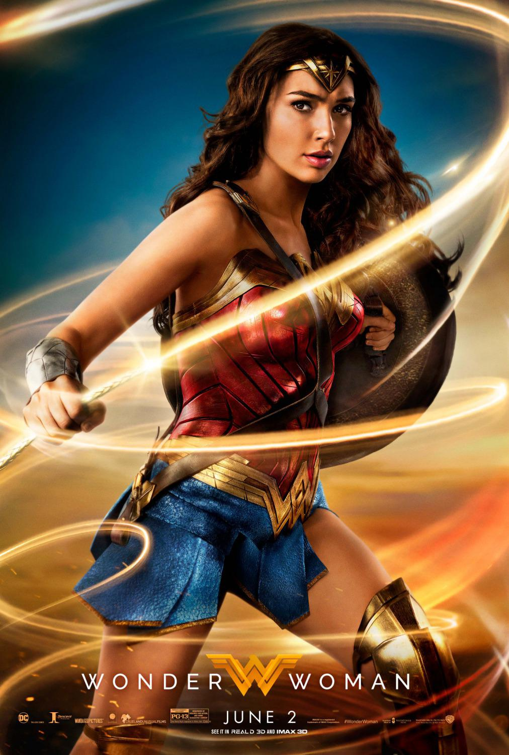 Wonder Woman 2017  poster magic lazo