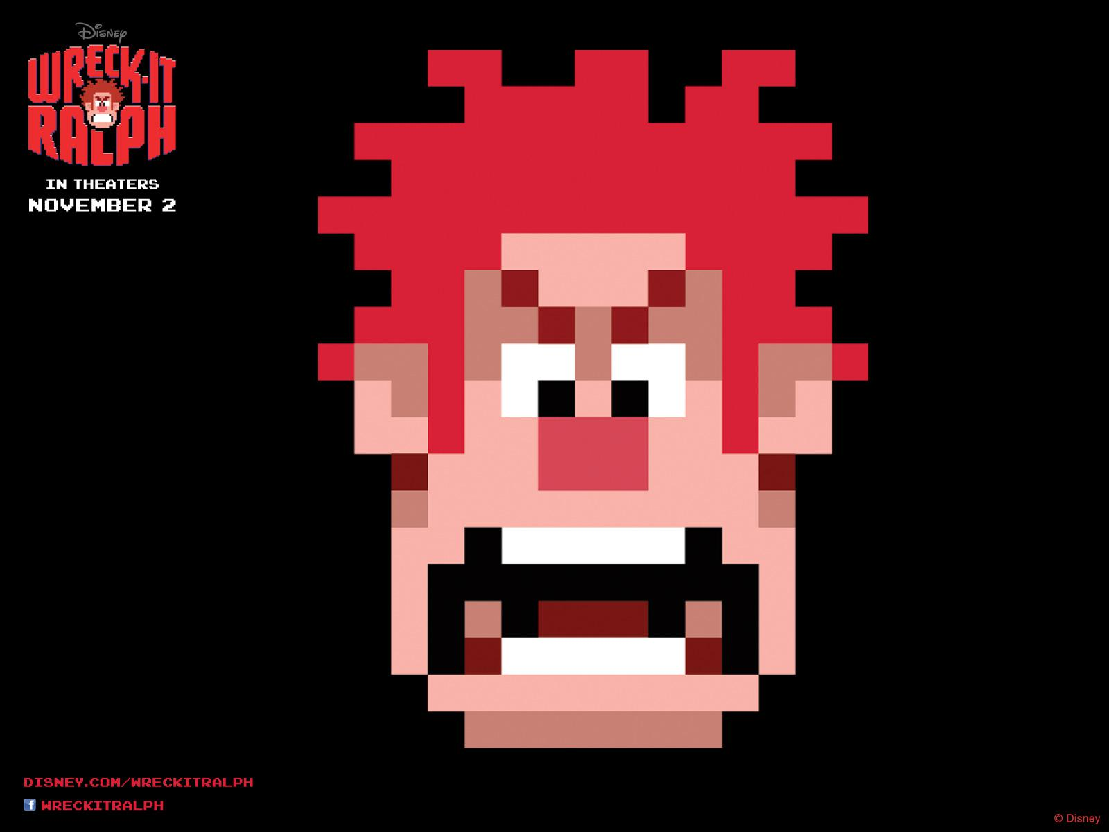 Ralph Spaccatutto - Wreck it Ralph - Ralph game face