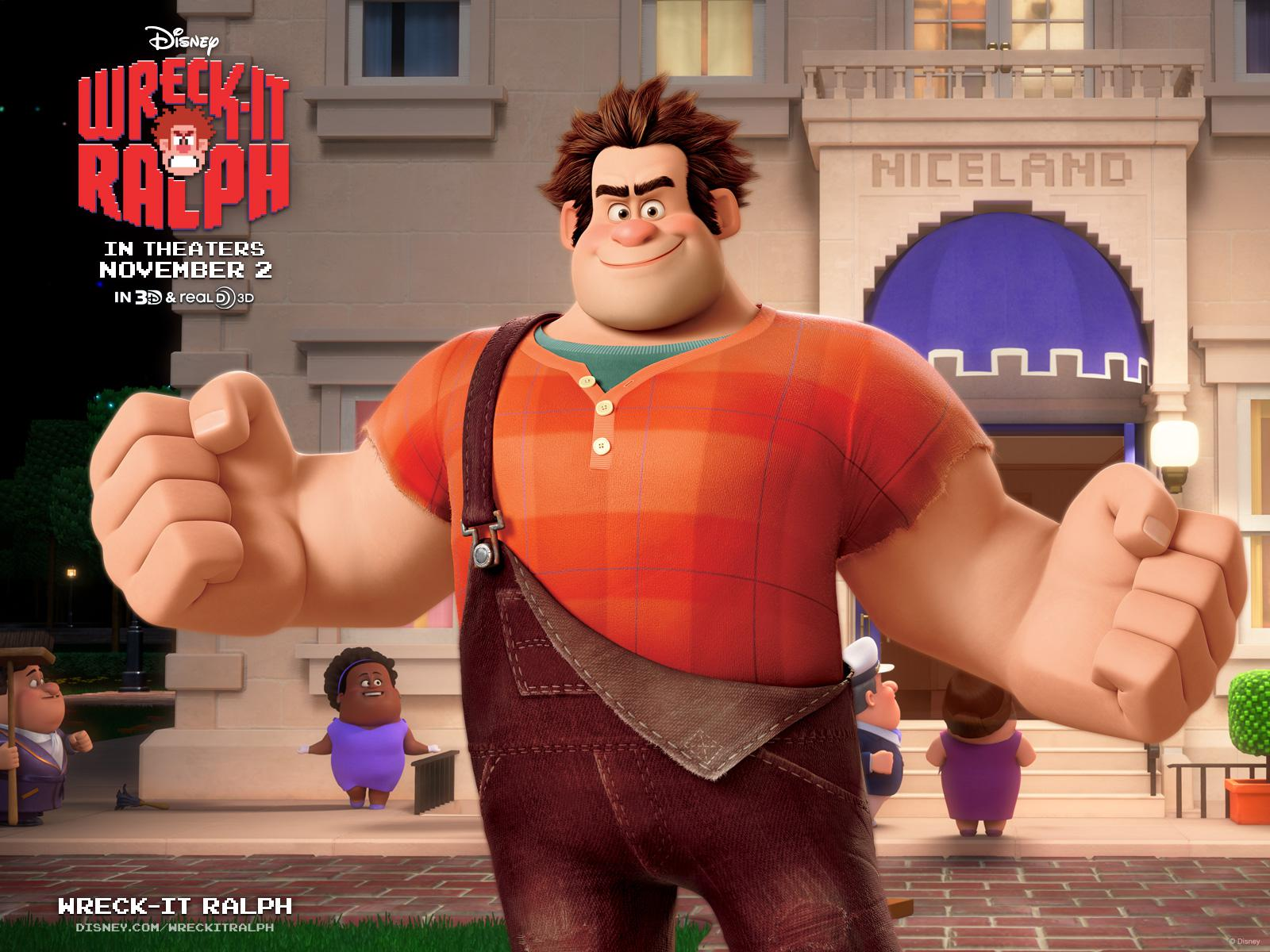 Ralph Spaccatutto - Wreck it Ralph - Ralph - poster