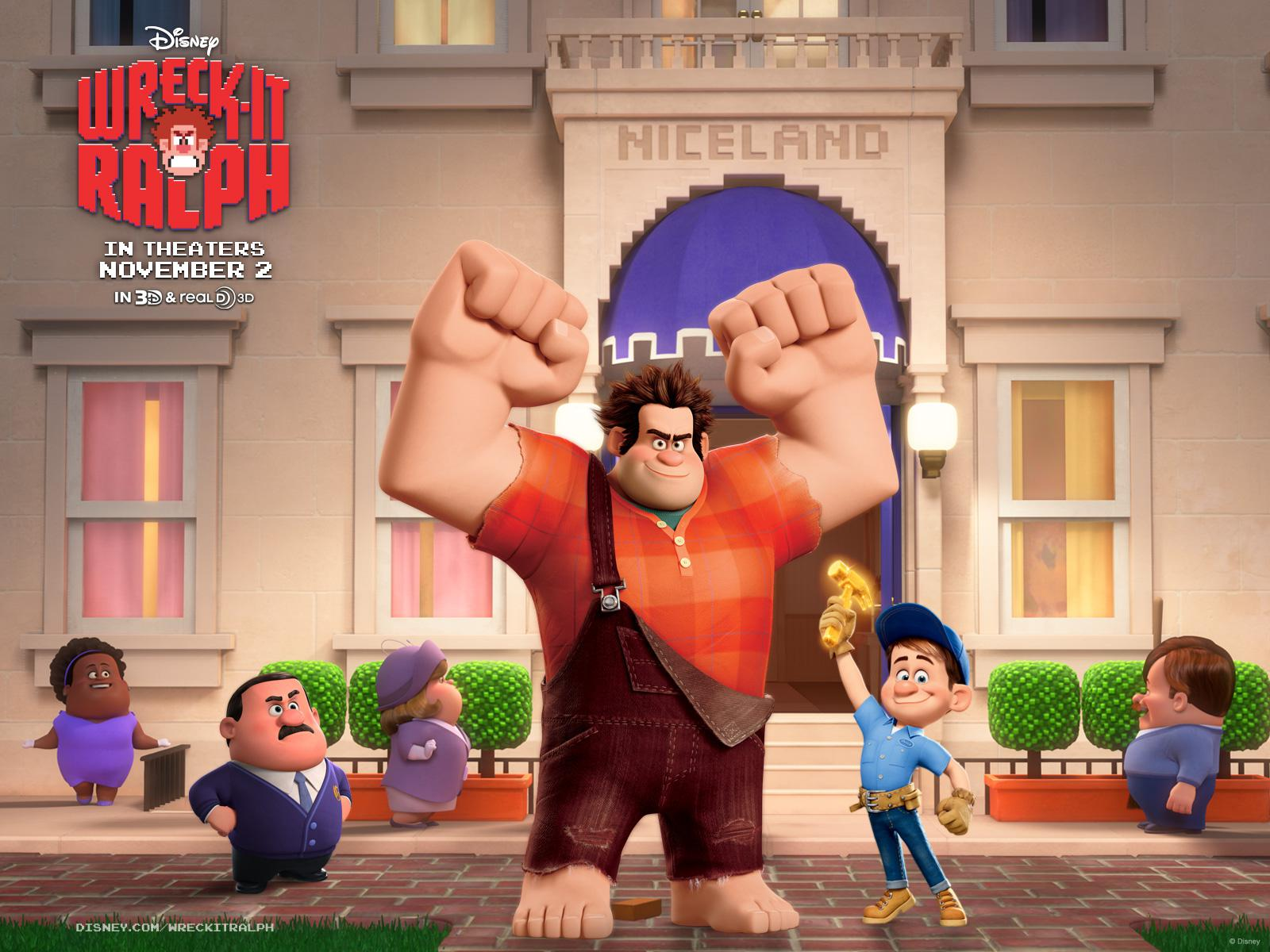 Ralph Spaccatutto - Wreck it Ralph - poster