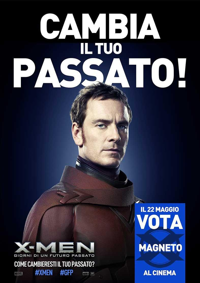X-Men 6 - X Men Giorni di un Futuro Passato - Days of Future Past  - poster