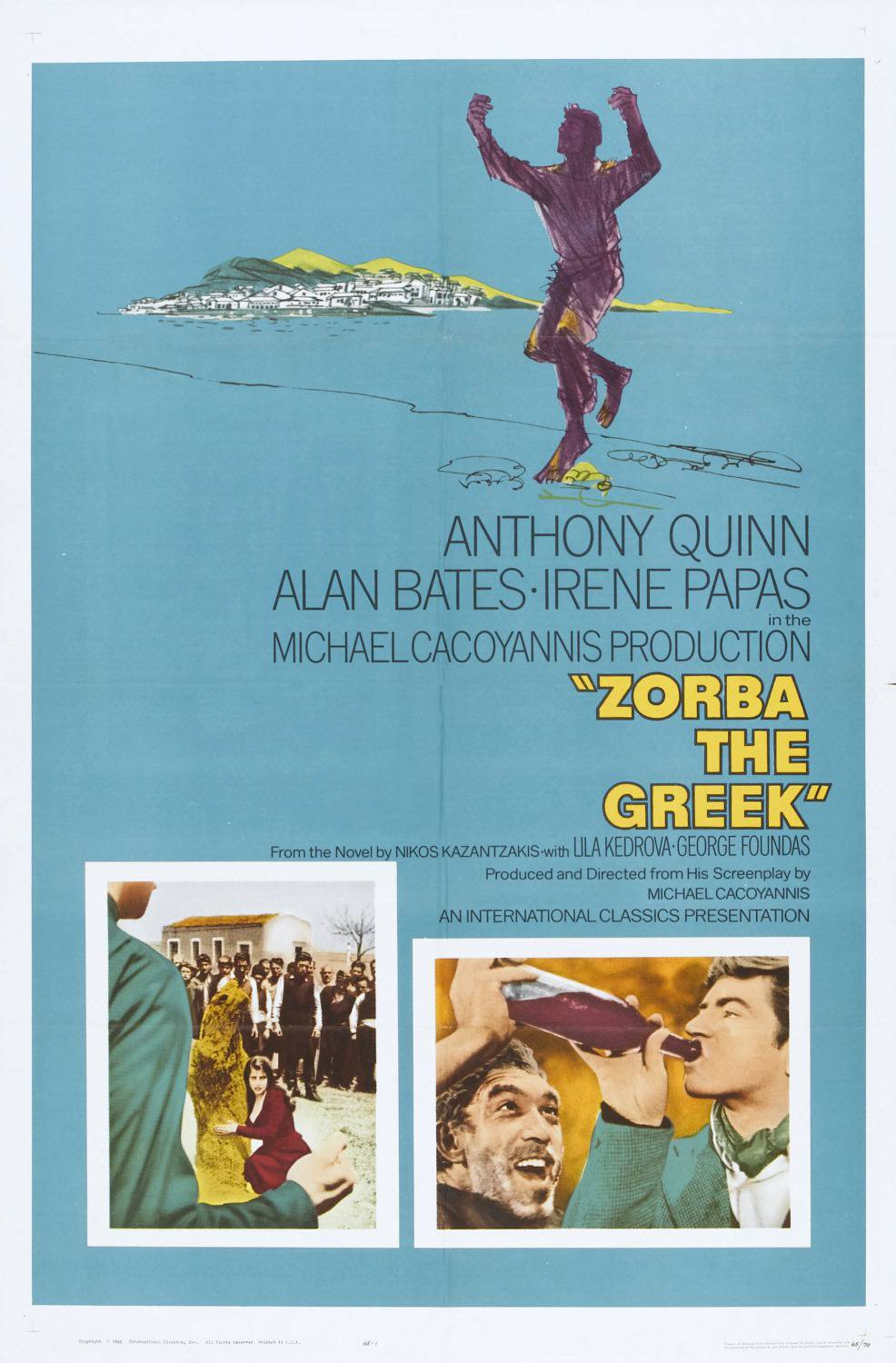 Zorba the greek - Zorba il Greco - Anthony Quinn