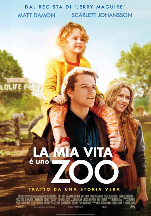La mia Vita e uno Zoo - We bought a Zoo