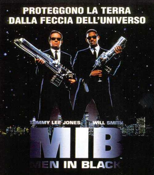 MIB = Men in Black - Mr. Jones e Mr. Smith