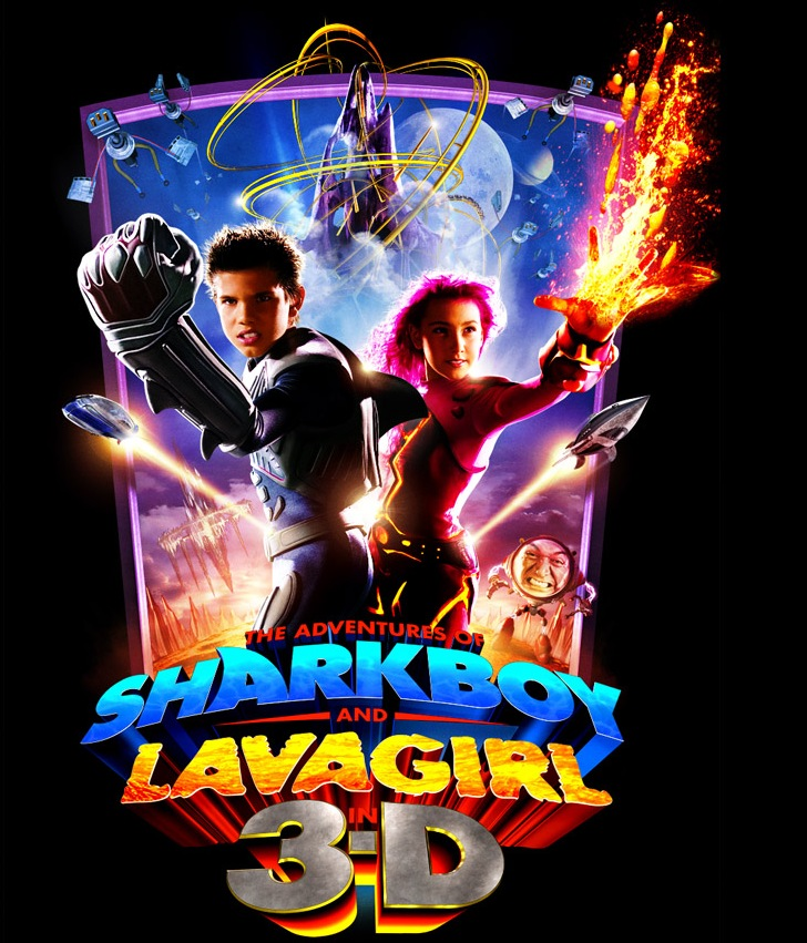 Sharkboy e Lavagirl