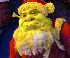 shrek - the halls - Christmas special - speciale natale