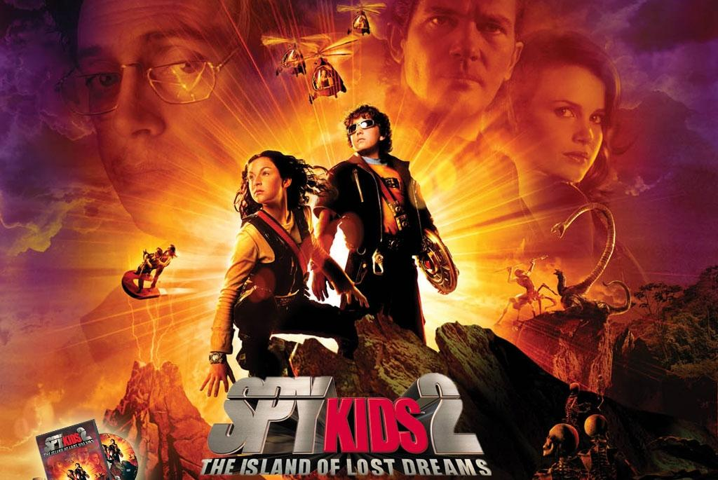 Spy Kids 2 the island of lost Dreams