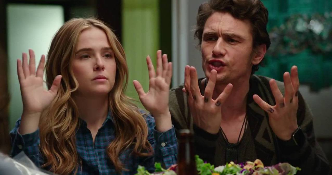 Proprio Lui - Why him - Laird Mayhew (James Franco) - Ned Flemming (Bryan Cranston) - Stephanie Fleming (Zoey Deutch)