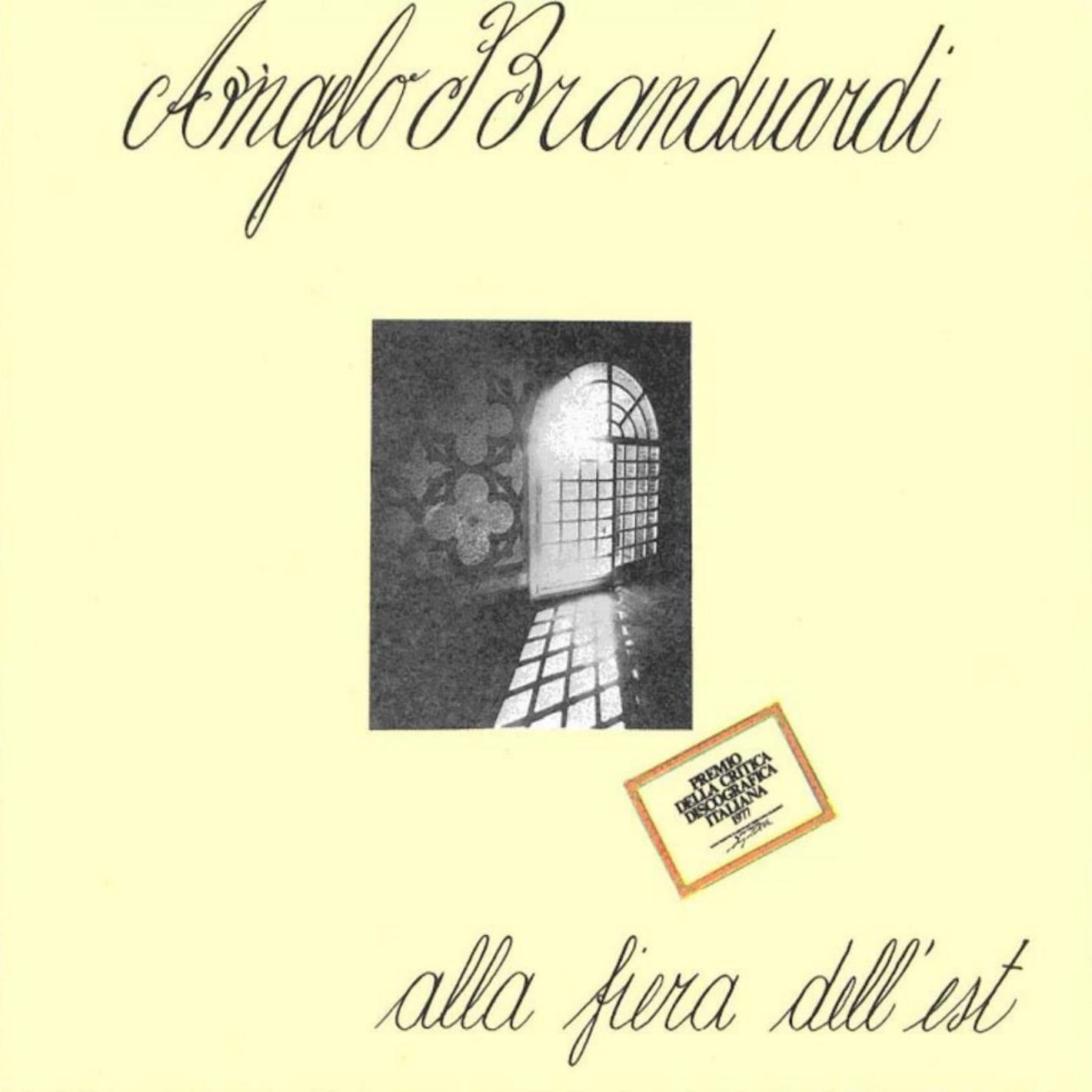 Angelo Branduardi - Alla fiera dell'Est - cover 1976