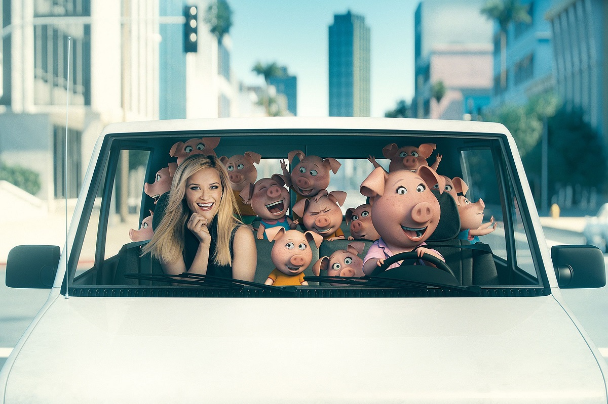Sing - film soundtrack - Rosita e Gunter - Reese Witherspoon - Shake it off
