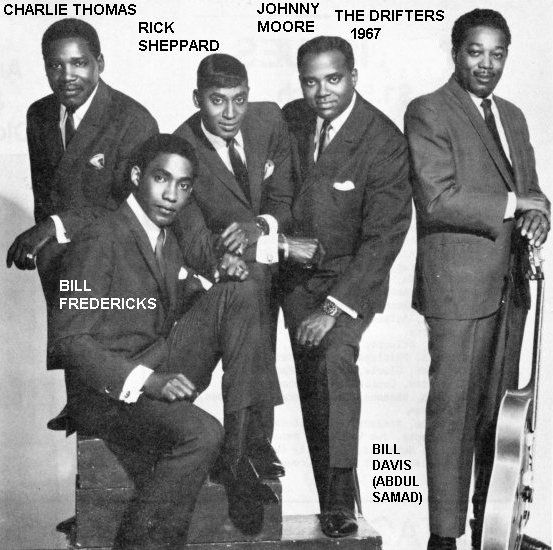 The Drifters - Save the last dance for me - 1962 - Charlie Thomas - Rick Sheppard - Johnny Moore - Bill Fredericks - Bill Davis