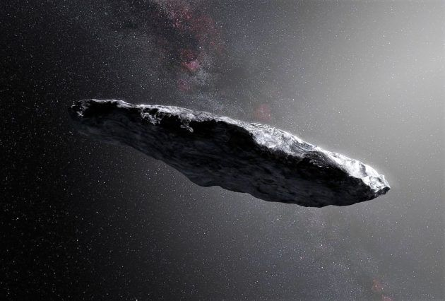 Oumuamua - asteroide interstellare