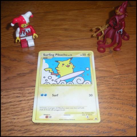 Carte Pokemon - Pikachu