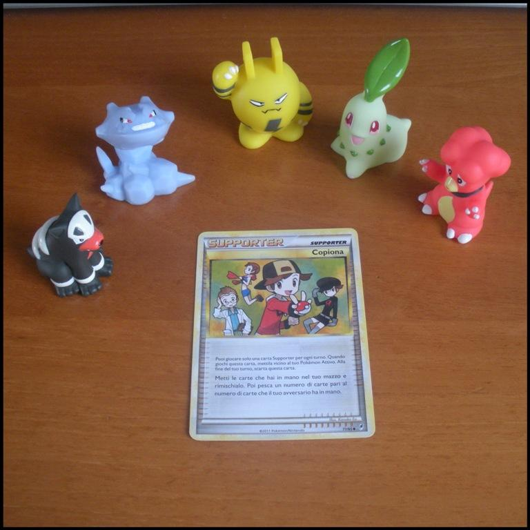 Carte Card Pokemon - carta supporter