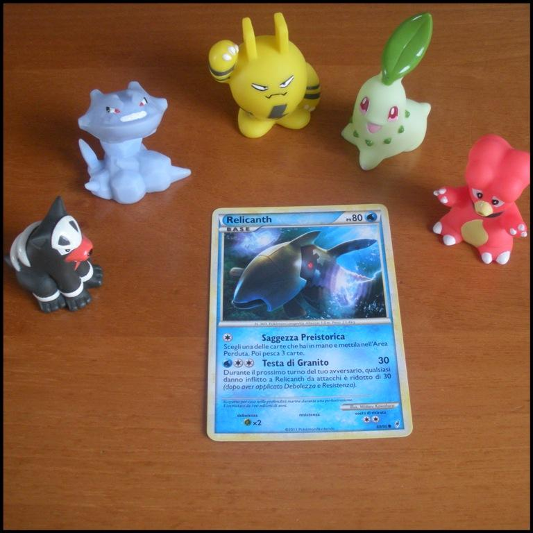 Carte Card Pokemon - Relicanth