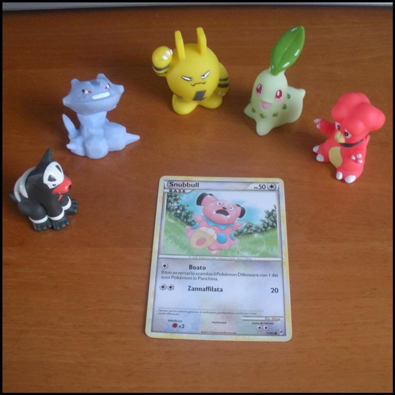 Carte Card Pokemon - Snubbull