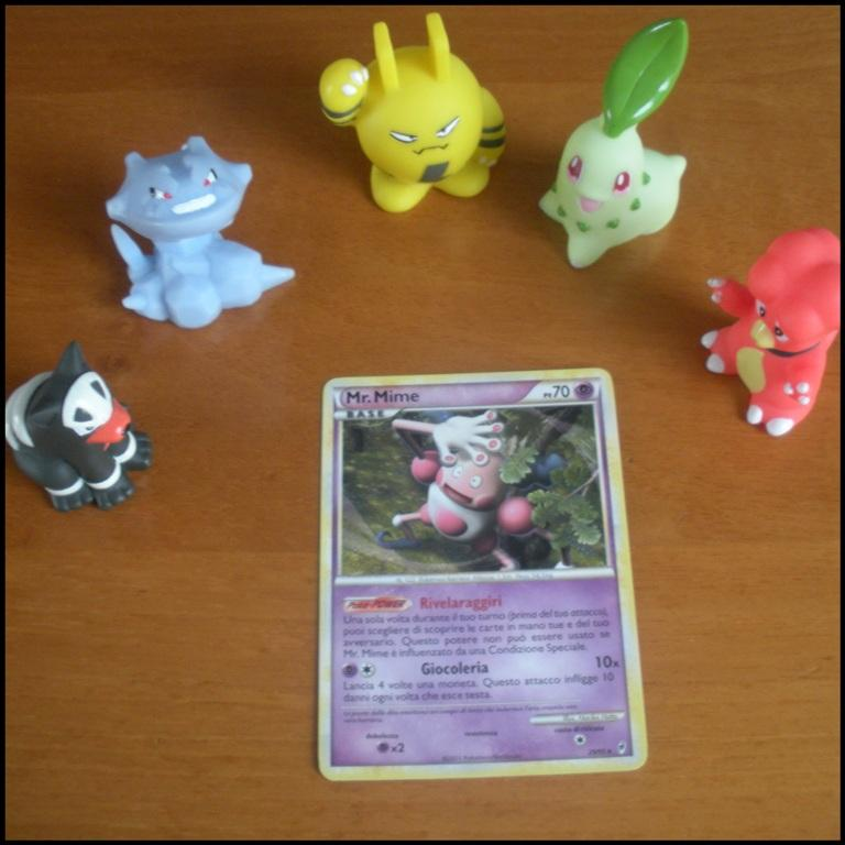 Carte Card Pokemon - Mr Mime
