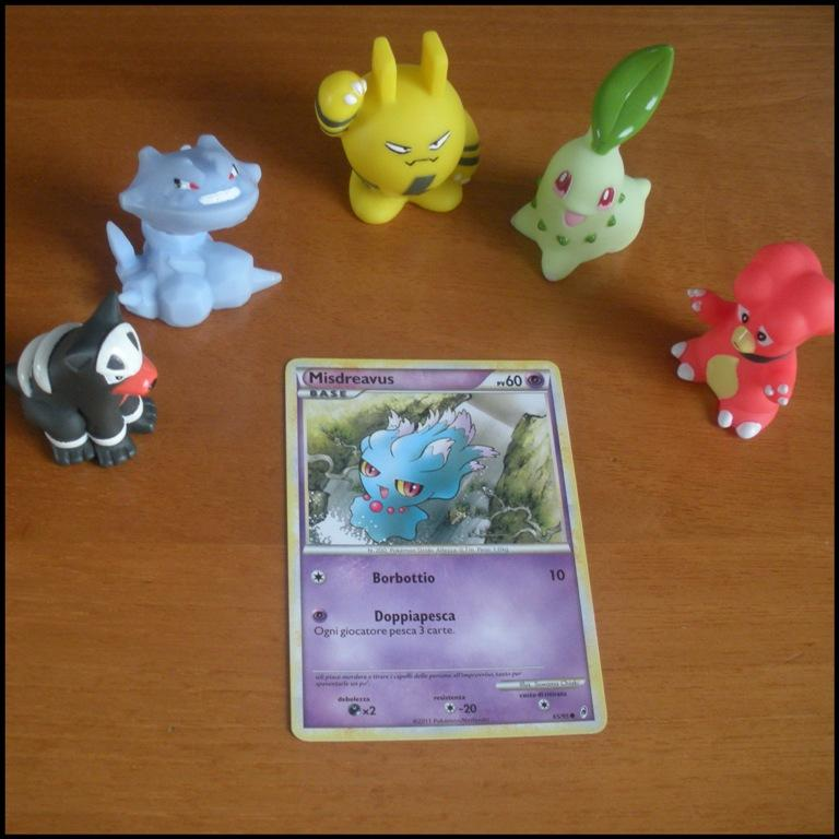 Carte Card Pokemon - Misdreavus