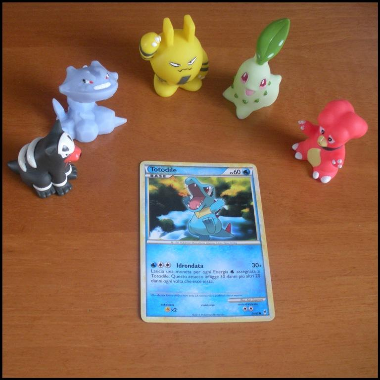 Carte Card Pokemon - Totodile