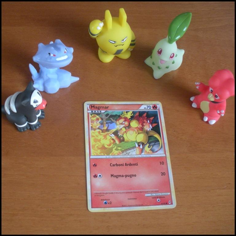 Carte Card Pokemon - Magmar