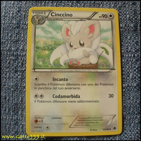 Pokemon Cards - Carte - Cinccino