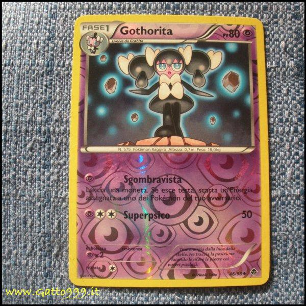 Pokemon Cards - Carte - Gothorita