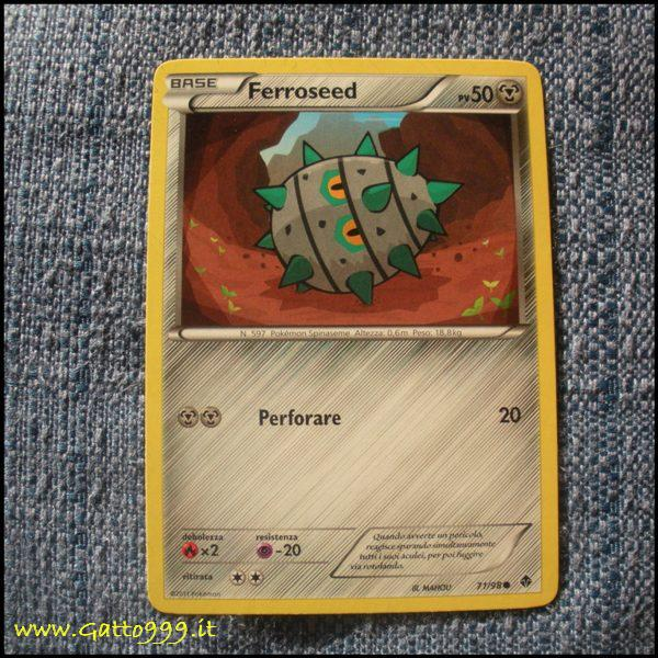 Pokemon Cards - Carte - Ferroseed