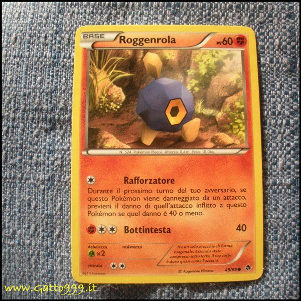 Pokemon Cards - Carte - Roggenrola