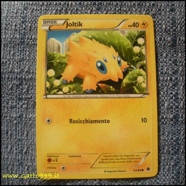 Pokemon Cards - Carte - Joltik