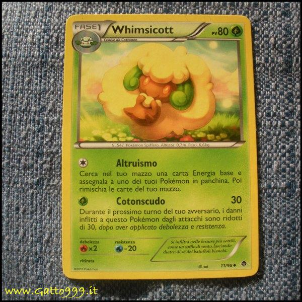 Pokemon Cards - Carte - Whimsicott