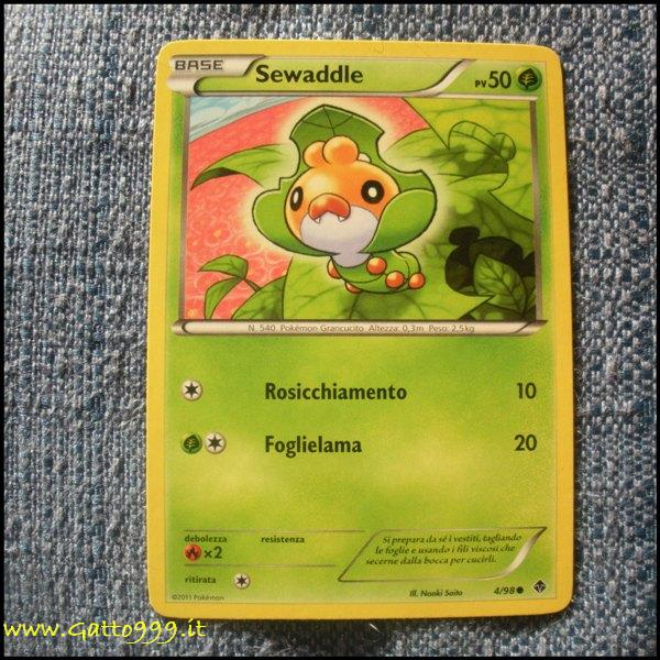 Pokemon Cards - Carte - Sewaddle