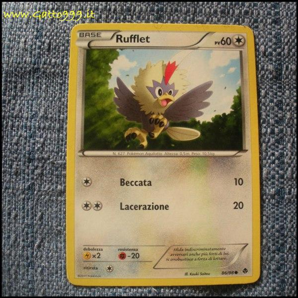 Pokemon Cards - Carte - Rufflet