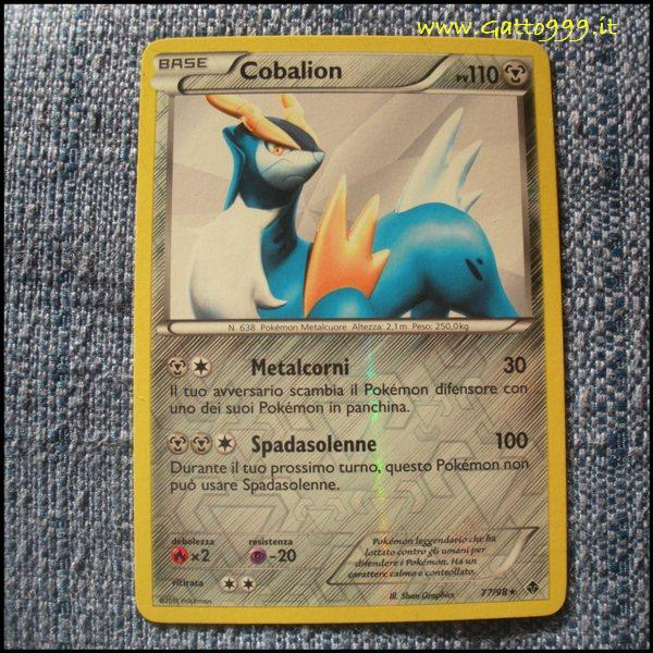 Pokemon Cards - Carte - Cobalion