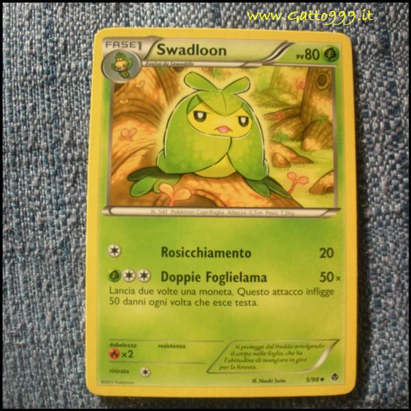 Pokemon Cards - Carte - Swadloon