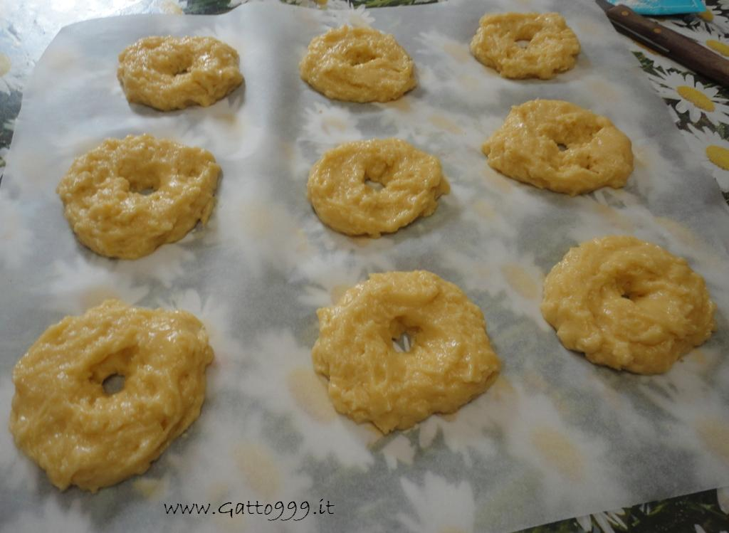 Ricetta - Ciambelle anice - anise Donuts - Rosquillas de anís - anis Beignets